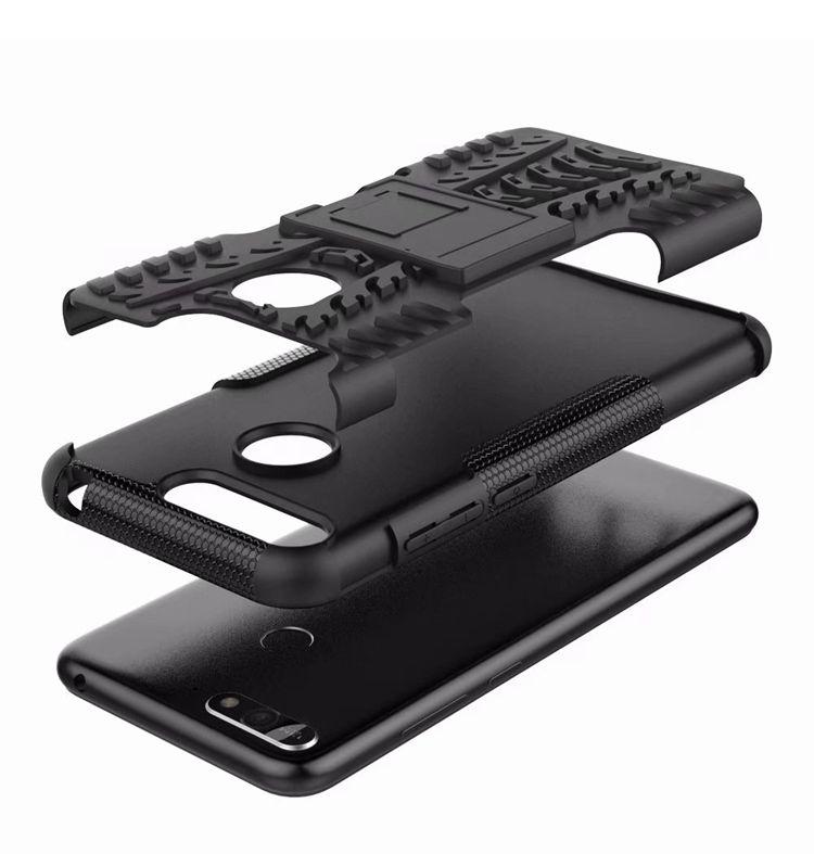 Противоударный чехол для Huawei Y6 (2018)