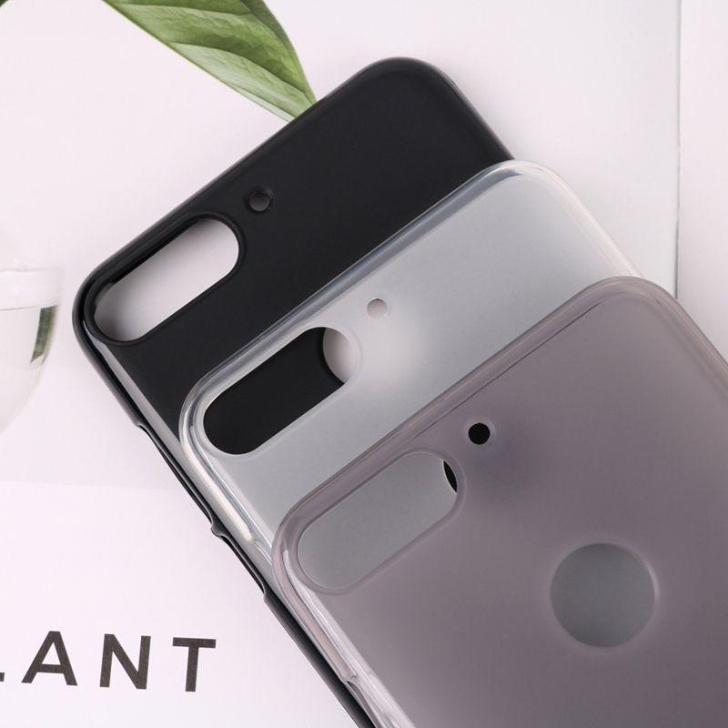 Матовый TPU чехол для Huawei Y7 2018 / Y7 Prime 2018 / Honor 7C