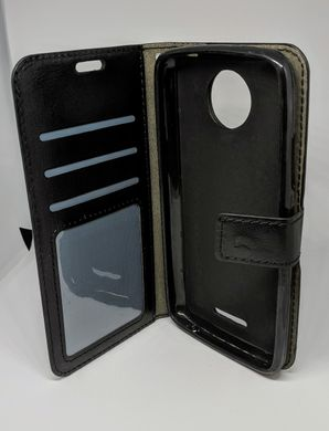 Чехол-книжка JR Original для Motorola Moto C Plus - Black