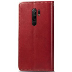 Чехол-книжка JR Original для Xiaomi Redmi 9 - Dark Red